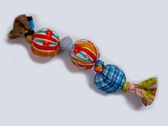 Tug-of-War Dog Toy from Scraps   AllFreeSewing.com