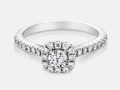 """Diamond engagement ring from Southern African Diamonds Private Collection """"Pippa""""    www.sorgjewelers.com"""