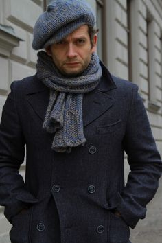 men's scarf and hat inspiration