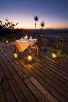 #Loisaba_Lodge - #Romantic #Private #Dinner, #Kenya http://directrooms.com/kenya/hotels/index.htm