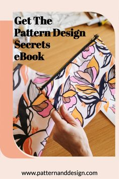 Getting started as a surface pattern designer doesn't have to be hard. If you're wanting to learn the secrets to getting started then this eBook will hold your hand and guide you through the process. You will learn: 🌟The design essential process you need to follow to create successful pattern designs 🌟The ins and outs of pattern repeats and collections 🌟How to stand out as a designer Kids Patterns, Floral Patterns, Pattern Designs, Surface Pattern Design, Textile Design, Fabric Design, Creative Class, Photoshop Tips, Inspiration For Kids