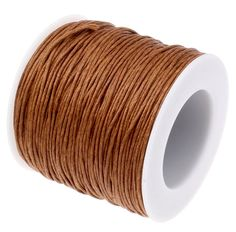 Waxed Cord : 10 yards (30 feet) Sienna Brown 1mm Waxed Cord String   Bracelet Cord   Macrame Cord   Chinese Knotting Cord 125-30                                                                                                                                                     More