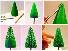 Fondant Christmas Tree