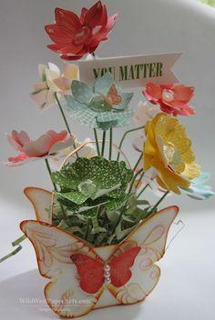 Bloomin Butterfly Basket