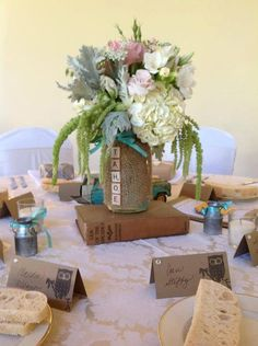 Vintage Wedding Centerpieces by HeatherVintage88 on Etsy, $45.00
