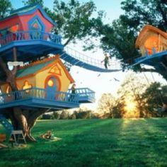 Outdoors Tree House Playset On Pinterest Tree Houses