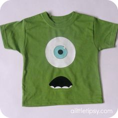 Mike Wazowski shirt for kids!
