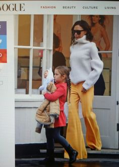 VICTORIA BECKHAM STYLE The fashion sneaker is a well-established runway phenomenon—remember the glittery couture versions at Chanel and Dior?—though nothing beats the classic kicks of the '7…
