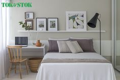 Dicas para decorar um quarto pequeno-5