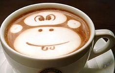 Amazing Coffee art, or latte art, started in Seattle 20 years ago. Here are 25 Over The Top Latte Art Designs from bartistas everywhere. Coffee Latte Art, I Love Coffee, Coffee Break, My Coffee, Coffee Cups, Cappuccino Art, Drink Coffee, Morning Coffee, Coffee Today