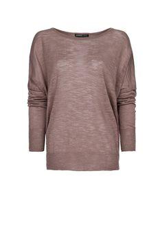 MANGO - Pullover maglia devoré