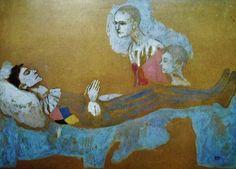 Pablo Picasso - Death of Harlequin 1905