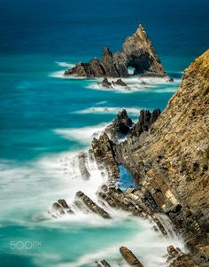 Rising from the Sea (Costa Vincentina, Alentejo, Portugal) by Paulo Costa on 500px