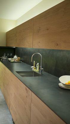 Secret Déco: Cuisine épurée et brut et salon Arty alsacien!