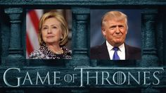 Let's have some fun, shall we? :) The final round for presidential elections is closing in and almost for sure we will have to elect between Donald Trump and Hillary Clinton. But there might be a secret winner ! See the end of the post and tell me if I'm wrong. Who is helping who?   they are helping me??  Photos credit: HBO