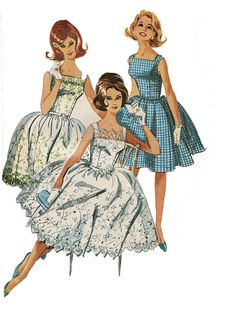 1960s McCalls 6183 Misses & Junior Prom by DesignRewindFashions, $29.00