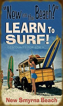 Learn To Surf @ New Smyrna Beach!