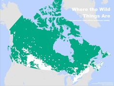 This map shows that most Canadians live near the U. border, leaving most of Canada still left to be inhabited. 15 Interesting Maps That Will Change The Way You See Canada Puerto Rico, Map Globe, Canada Eh, Canadian History, Nature Reserve, Canada Travel, High Quality Images, Places To Visit, Cool Stuff
