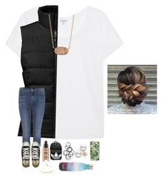 """""""•outfit one of Tay's contest•"""" by mackenzielacy814 ❤ liked on Polyvore featuring Splendid, The North Face, 7 For All Mankind, Smashbox, adidas, Monki, Converse, Casetify, LULUS and Kendra Scott"""