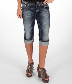 66500a52af3 Miss Me Embellished Stretch Cropped Jean Cropped Jeans