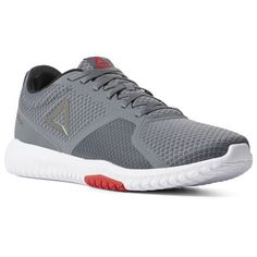052e679e Reebok Shoes Men's Flexagon Force in Alloy/White/Red Size 11.5 - Training  Shoes