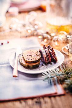 Découvrez notre recette de Foie gras Café - Crème de whisky #Noël