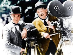 Stan Laurel and Oliver Hardy,1932