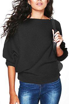 Yidarton Damen Pullover Oversized Rippe Knitted Batwing B... https://www.amazon.de/dp/B01MTLN5MU/ref=cm_sw_r_pi_dp_U_x_JIkzAbKBGVTJS