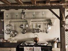 Rustic Farmhouse French Kitchen Magic.