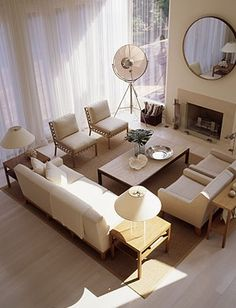 Now this is how you do an a neutral livingroom!