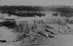 Frozen Niagra Falls - 1911