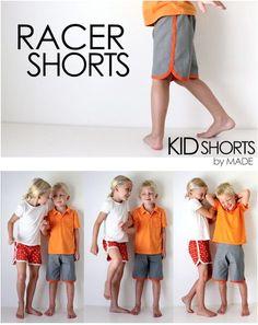 ganz viele tolle kostenlose Anleitungen um Kinderkleidung und Babykleidung zu nähenShorts für Kinder & Kleinkinder nähen