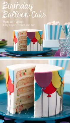 Balloon Birthday Cake how to from @joannstores