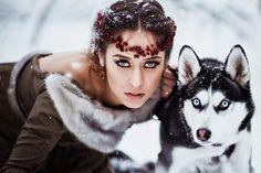 фотосессия с хаски: 20 тыс изображений найдено в Яндекс.Картинках