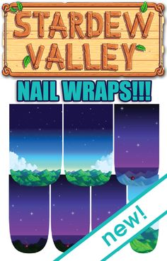 In collaboration with creator, Eric Barone, and Chucklefish Games...Espionage Cosmetics presents officially licensed Stardew Nail Wraps! Pre-order them now at the link! #EspionageCosmetics #NerdManicure #Stardew #StardewValley #Nails #NerdNails #Chucklefish #ConcernedApe #RPG #FarmingSim #IndieGames