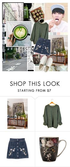 """""""but pretty isn't everthing, right?"""" by the-neon-rose ❤ liked on Polyvore featuring Lara, Urban Outfitters, Gap and btspolyvorearmy"""
