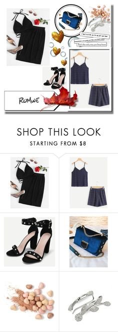 """""""Romwe 8"""" by medinicab ❤ liked on Polyvore featuring Too Faced Cosmetics"""