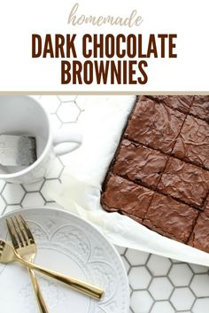 These brownies are sooo fudge and delicious | the INSPIRED home