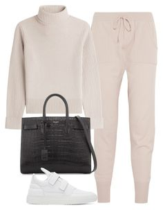 """""""Untitled #1131"""" by deamntr ❤ liked on Polyvore featuring Eres, Vanessa Seward, Yves Saint Laurent and Filling Pieces"""