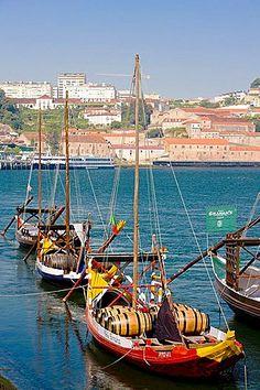 Barco Rabelo, Porto