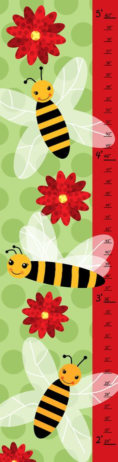 Bees and Green Growth Chart