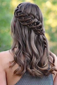 Waterfall Braid #braids #half-up #waterfallbraid ❤️ Check out our collection of easy-to-do hairstyles with braids and try to style your hair in a similar way. ❤️ See more: http://lovehairstyles.com/braided-hairstyles-for-spring/ #lovehairstyles #hair #hairstyles #haircuts