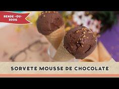 Sorvete Mousse de Chocolate - Receitas de Minuto #145 - YouTube