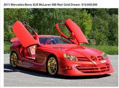 La plus chère voitures vendues aux enchères  - Mercedes Benz 10000000$