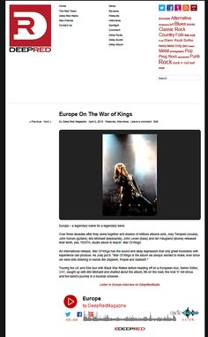 2015: Europe On The War of Kings - Deep Red Magazine