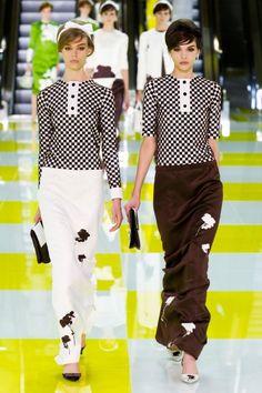 Défilé Louis Vuitton Printemps-Eté 2013
