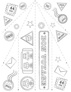 color paper airplane for kids - Google Search