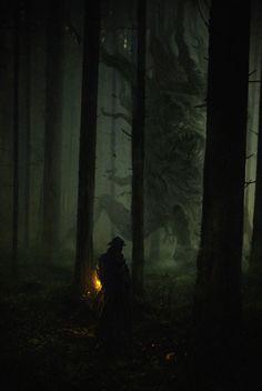 scifi-fantasy-horror: by biggie frank - Arcadia Quest Gothic Horror, Arte Horror, Horror Art, Gothic Art, Fantasy Forest, Dark Fantasy Art, Fantasy World, Dark Souls, Lovecraftian Horror