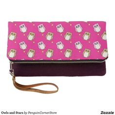 Owls and Stars Clutch