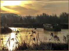 Frosty morning @ Calcutt Marina www.calcuttboats.com